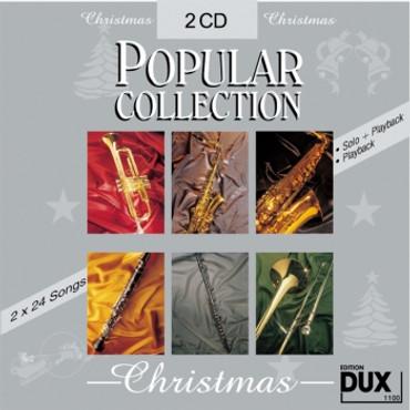 Popular Collection Christmas, Doppel-CD mit Halb- und Vollplayback, 2 x 16 Songs, D 1100
