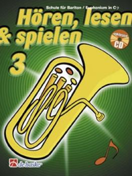 Hören, lesen & spielen, Band 3, Bariton/Euphonium in C, DH 1013029
