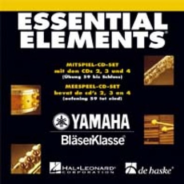 Essential Elements, Mitspiel-CD Set Band 1 CD 2, 3 + 4, DH 18-040-3