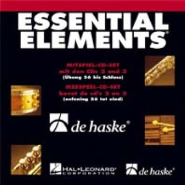 Essential Elements, Mitspiel-CD Set Band 2 CD 2 + 3, DH 18-057-3