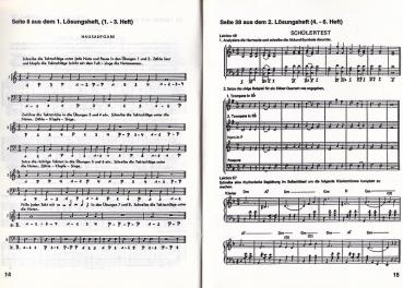 Musik-Theorie, Lösungsheft zu Heft 1-3, JS 22017 – Bild 2