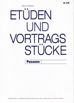 Etüden und Vortragsstücke, Posaune, BK 879