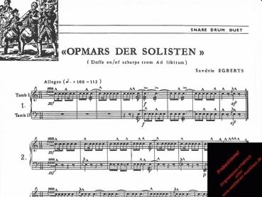Duo: Opmars der Solisten, TR 86