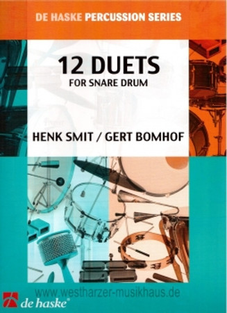 Duo: 12 Duets for Snare Drum, DH 970832