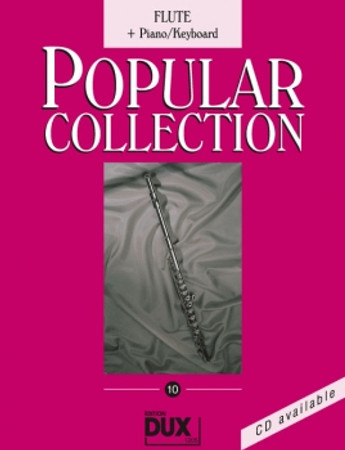 Popular Collection 10, Piano/Keyboard + Flöte, D 1205