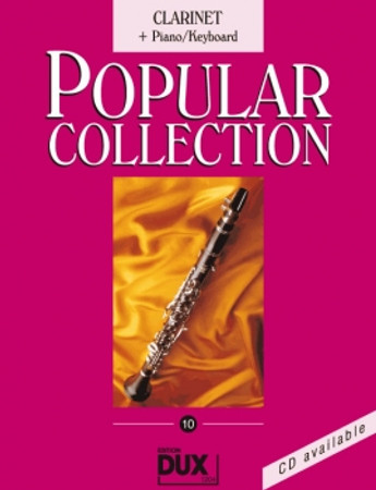 Popular Collection 10, Piano/Keyboard + Klarinette, D 1204