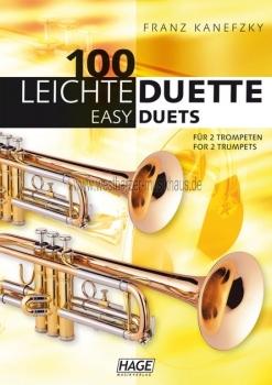100 Leichte Duette für 2 Trompeten, EH 1501