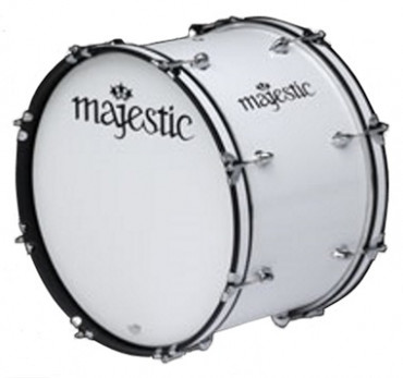 "MAJESTIC 26"" x 10"" Bass Drum CONTENDER"