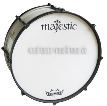 """MAJESTIC 20"""" x 10"""", Metallteile schwarz, Bass Drum ENDEAVOR"""