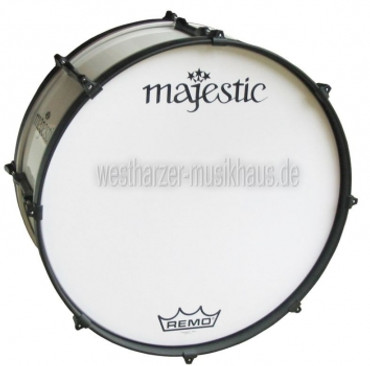 "MAJESTIC 26"" x 14"", Metallteile verchromt, Bass Drum ENDEAVOR"