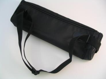 Flöten-Etui-Überzug schwarz mit Tragegurt – Bild 2