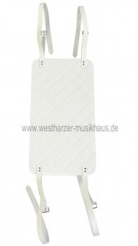 BOLD Trommelschürze schmal 24 x 45 cm weiß