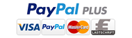 PayPal, Kreditkarte, Lastschrift