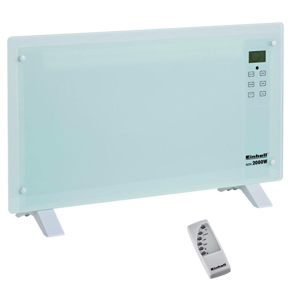 Einhell GCH 2000 W Glas Elektro Heizung Konvektor Heizer Wand Heizkörper NEU/OVP