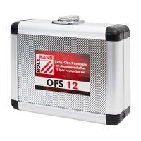 Holzmann OFS 12 Oberfräsersatz im Aluminiumkoffer 12 tlg. – Bild 2