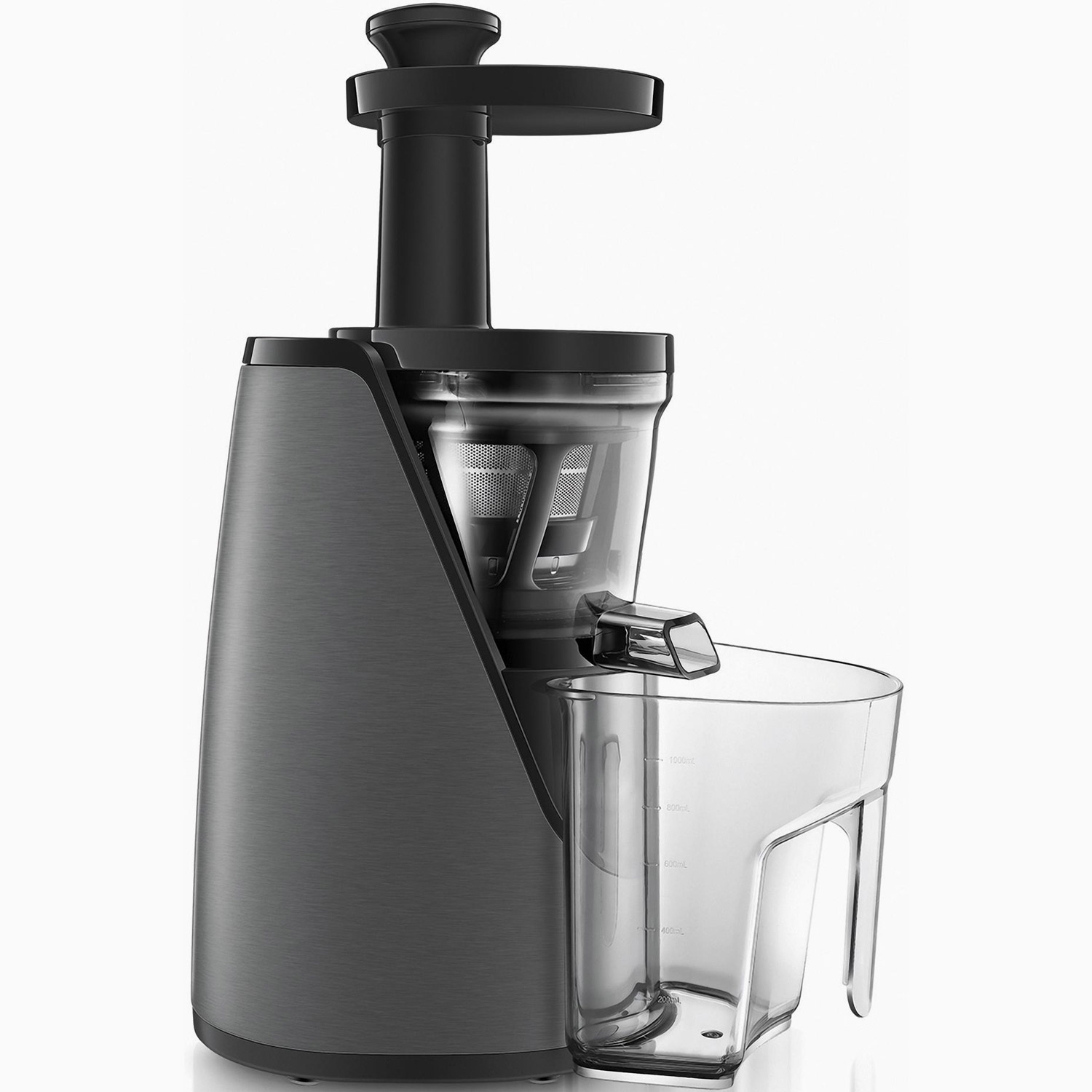 grundig slow juicer sj 8640 entsafter mixer titan schwarz. Black Bedroom Furniture Sets. Home Design Ideas