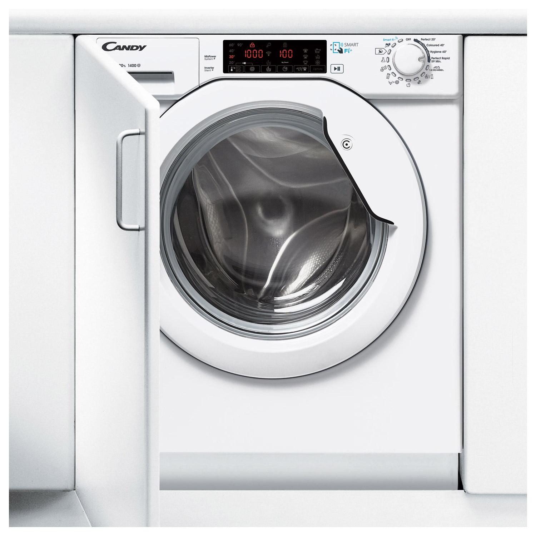 candy cbwms 914 twh s smart einbau waschmaschine mit nfc. Black Bedroom Furniture Sets. Home Design Ideas