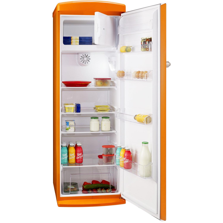 Siegbert RS 300 A++ Retro Stand-Kühlschrank mit Gefrierfach EEK: A++
