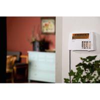 "Xavax by Hama 111977 Funk-Alarm-System ""FeelSafe"" Starter Set, inkl. Basisstation, 1x Bewegungssensor, 2x Fenster- / Türsensor und 1x Fernbedienung, 120 dB, Sabotageschutz – Bild 2"