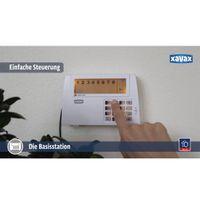 "Xavax by Hama 111977 Funk-Alarm-System ""FeelSafe"" Starter Set, inkl. Basisstation, 1x Bewegungssensor, 2x Fenster- / Türsensor und 1x Fernbedienung, 120 dB, Sabotageschutz – Bild 9"