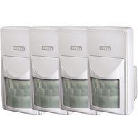 "Xavax by Hama Funk-Alarm-System ""FeelSafe"" XXL Set, inkl. Basisstation, 4x Bewegungssensor, 6x Fenster- / Türsensor und 2x Fernbedienung, GSM APP Modul, 120 dB, Sabotageschutz – Bild 4"