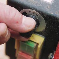 Holzmann D 460 FXL Drechselbank, Drechselmaschine, Holzdrehbank mit Display und elektronischer Drehzahlverstellung – Bild 4