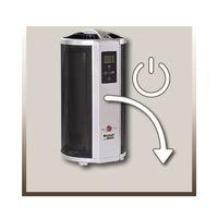 Einhell WW 2000 R Infrarot Wärmewellenheizung, 2000 Watt, LCD-Display, Kippschutz, Fernbedienung – Bild 3