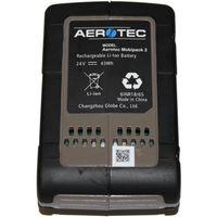 Aerotec 200801 Akku-Kompressor Mobipack 2, 8 bar, 2 Liter Kessel, inkl. 24V Li-Ion Akku & Ladegerät, Sicherheitsventil – Bild 2