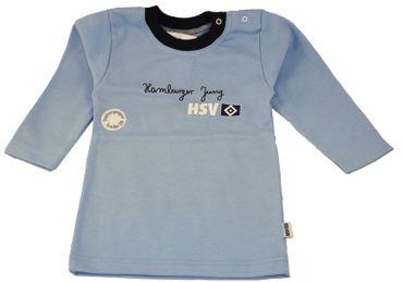 HSV Jungen Langarmshirt, hellblau