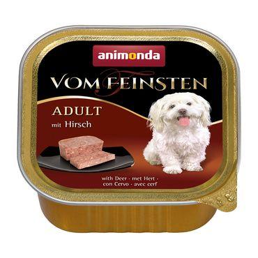 Animonda Dog Vom Feinsten Adult mit Hirsch 150g – Bild 1