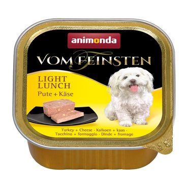 Animonda Dog Vom Feinsten Light Lunch Pute & Käse 150g – Bild 1