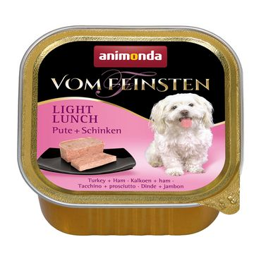 Animonda Dog Vom Feinsten Light Lunch Pute & Schinken 150g – Bild 1