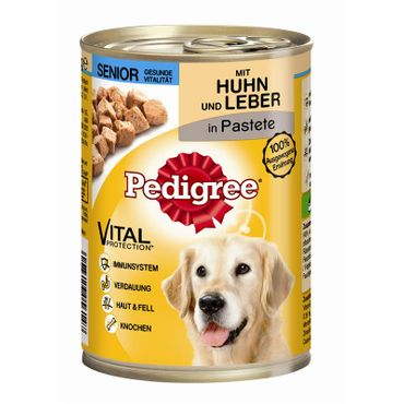 Pedigree Dose Senior Huhn & Leber 400g