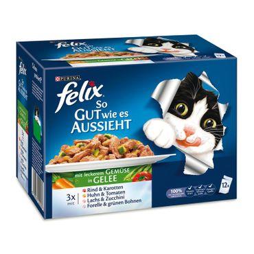 Felix Portionsbeutel Multipack So gut wie es aussieht Gemüse12x100g – Bild 1