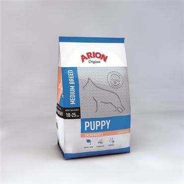 Arion Original Puppy medium Salmon & Rice 12kg