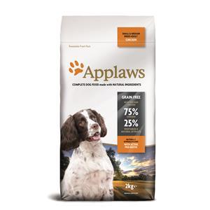 Applaws Hunde Trockenfutter Adult Small & Medium Breed mit Huhn 2 kg – Bild 2