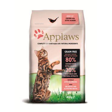 Applaws Katzen Trockenfutter mit Hühnchen & Lachs 400 g – Bild 1