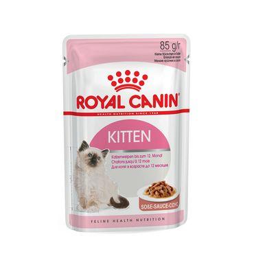 Royal Canin Feline Health Nutrition Kitten in Soße 85 g Frischebeutel – Bild 1