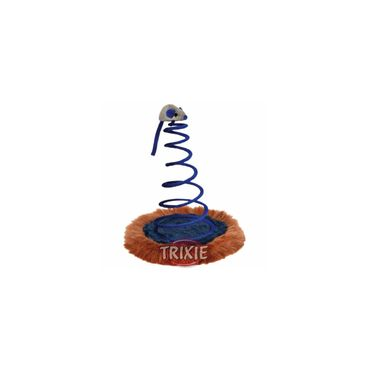 Trixie Catnip Maus auf Spiralfeder ø 20 x 25 cm – Bild 1