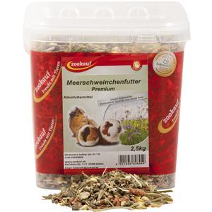 zookauf Nager Futter Premium für Meerschweinchen im Eimer 2,5 kg – Bild 2