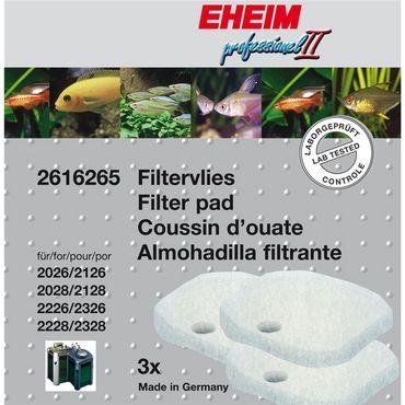 EHEIM Aquarium Satz Filtervlies für 2026-2128 professionel II und 2226-2328 professionel 3Stück