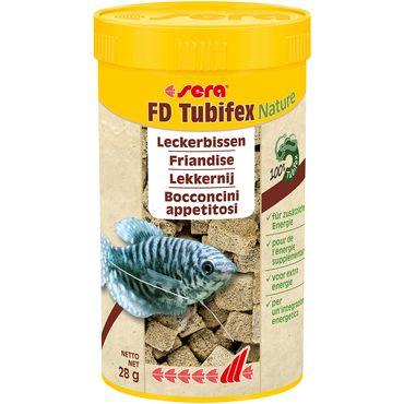 sera FD Tubifex 250 ml, Bachröhrenwürmer