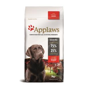 Applaws Hunde Trockenfutter Large Breed Adult mit Huhn 2 kg – Bild 2