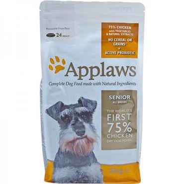 Applaws Hunde Trockenfutter Senior mit Hühnchen 2 kg