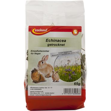 zookauf Nager Snack Echinacea grobe für alle Nager 65 g