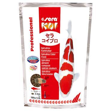 sera KOI Professional Spirulina-Farbfutter 1000 g