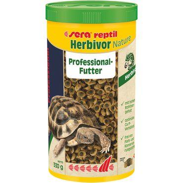 sera reptil Professional Herbivor, 1 Liter (330g) Reptilienfutter