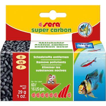 sera super carbon  29g Aktivkohle, Filtermedium