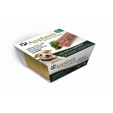 Applaws Hunde Nassfutter in Schale Paté mit Rind und Gemüse 150 g