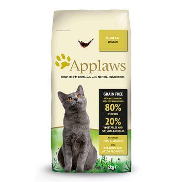 Applaws Katzen Trockenfutter Senior mit Hühnchen 2 kg